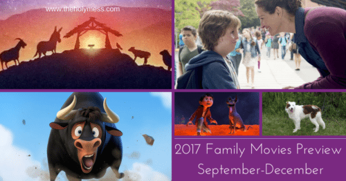 2017 Family Movies Preview Part 3