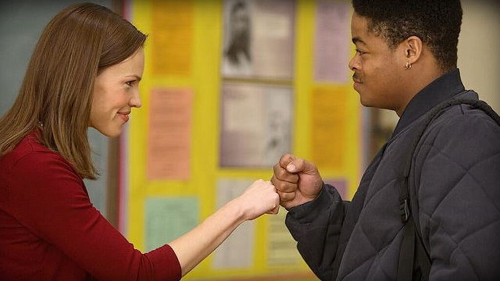 "Image from the movie ""Freedom Writers"""