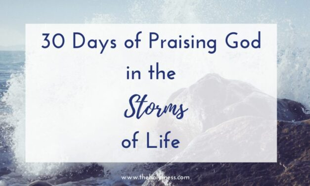 30 Days of Praising God in the Storms of Life Bible Reading Plan