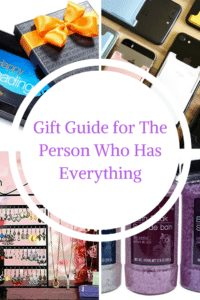 Gift Guide for the Person Who Has Everything|The Holy Mess