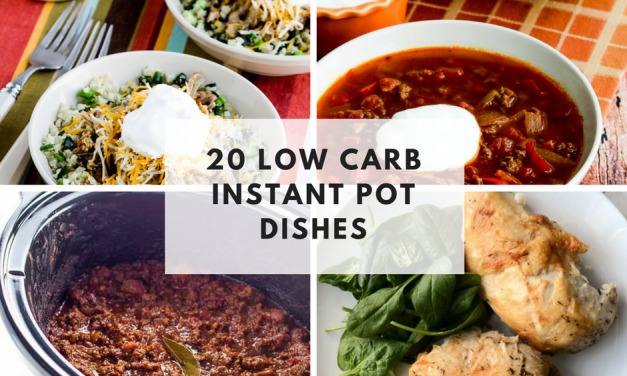 20 Low Carb Instant Pot Recipes