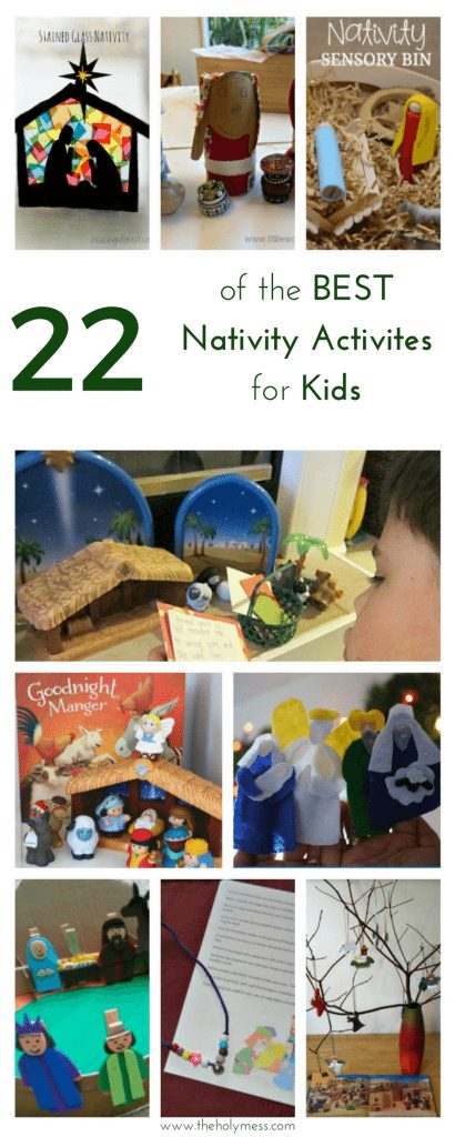 22 of the Best Nativity Activities for Kids #nativity #Christmas #kids