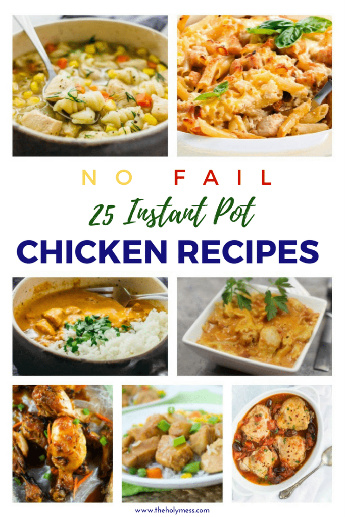 25 #instantpot #chicken #recipes #easydinnerrecipe