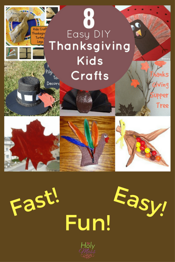 8 DIY Thanksgiving Crafts for Kids|#thanksgiving #kids #easycrafts
