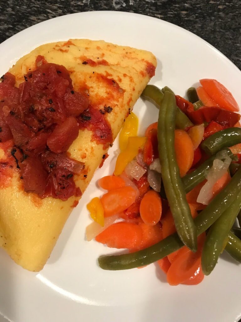 Vegetable Omelet, diet to go