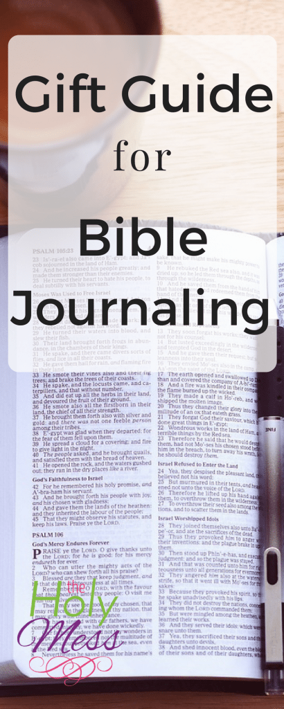 Gift Guide for Bible Journaling