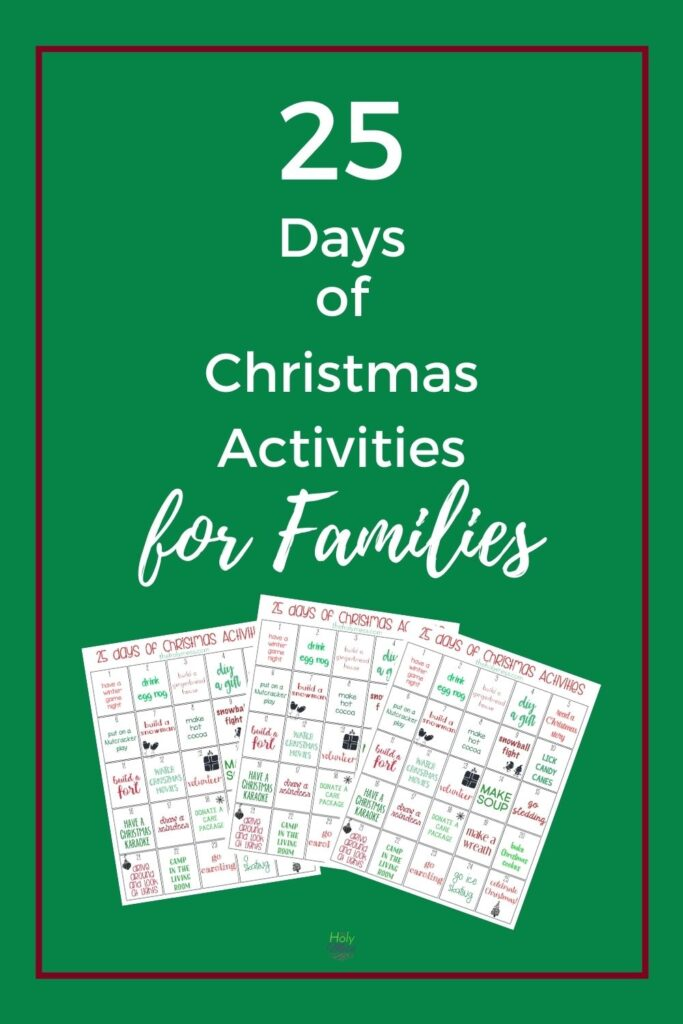 Holiday Activities for Families in December