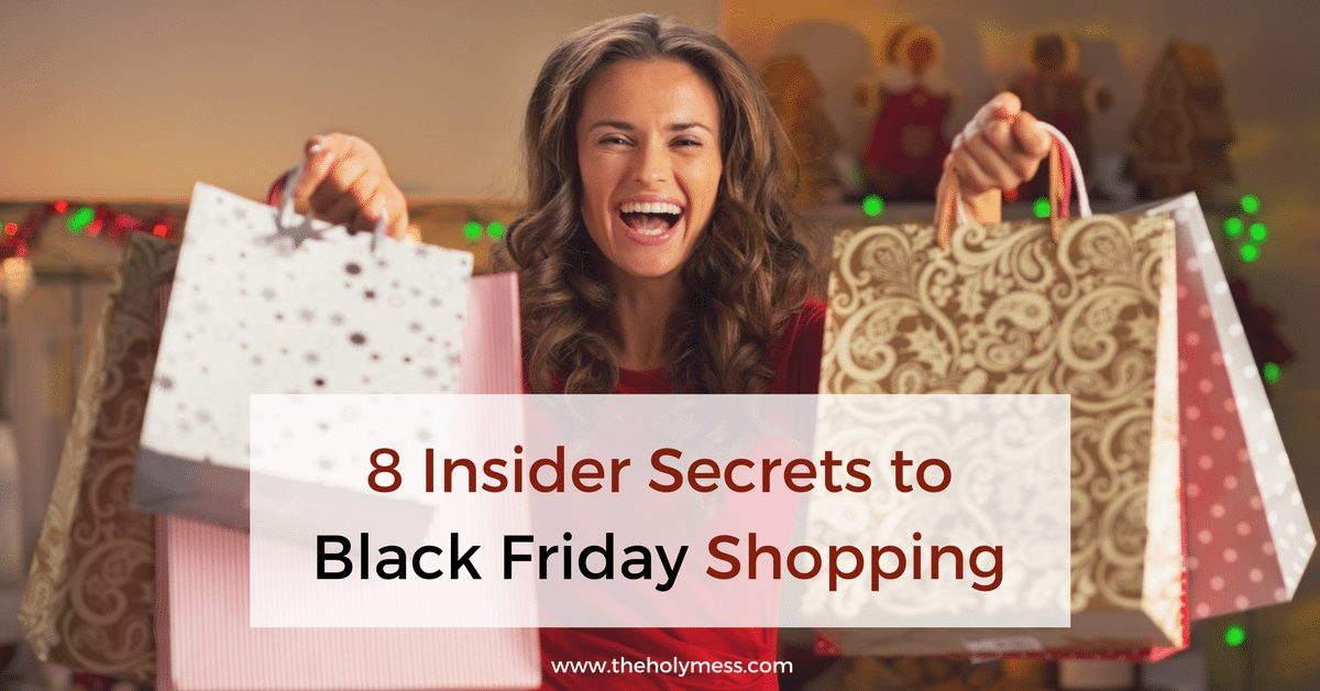 8 Insider Secrets to Black Friday Shopping