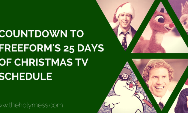 Countdown to Freeform's 25 Days of Christmas TV Schedule