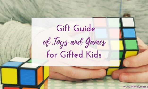 Gift Guide of Games and Toys for Gifted Kids