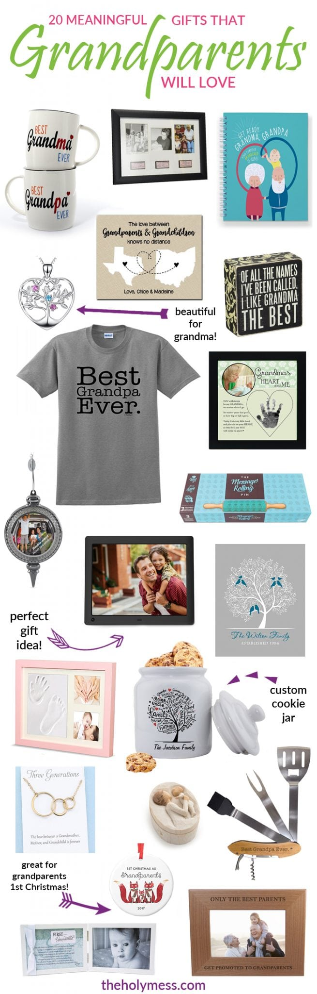 20 Meaningful Gifts That Grandparents Will Love