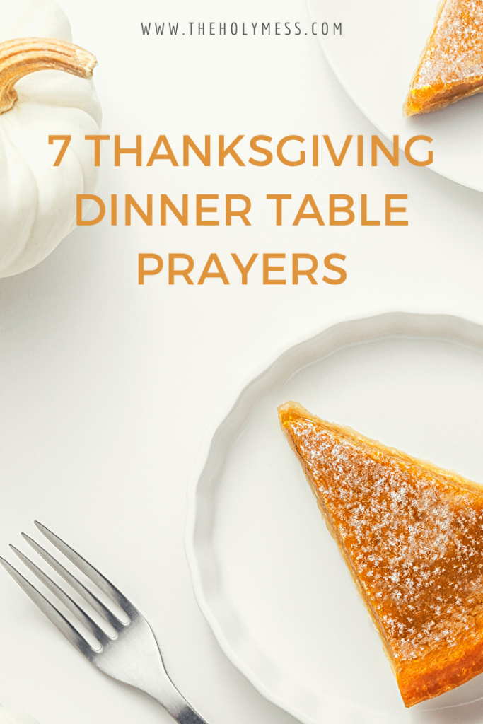 dinner prayers, dinner table prayers, family dinner prayer,