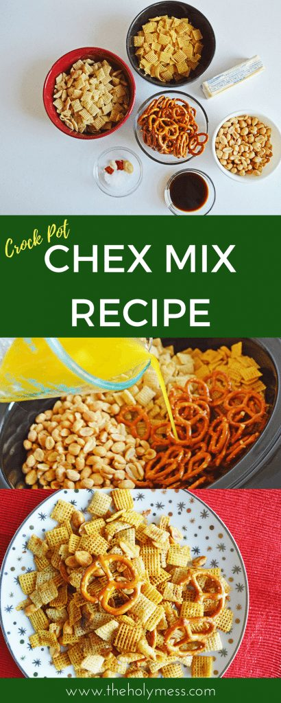 Slow Cooker Chex Mix Recipe