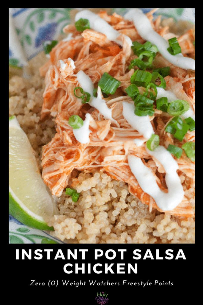 Instant Pot Salsa Chicken Pin