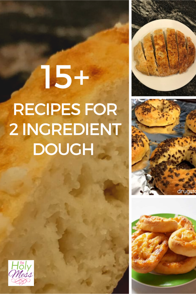 15+ Recipes for 2 Ingredient Dough