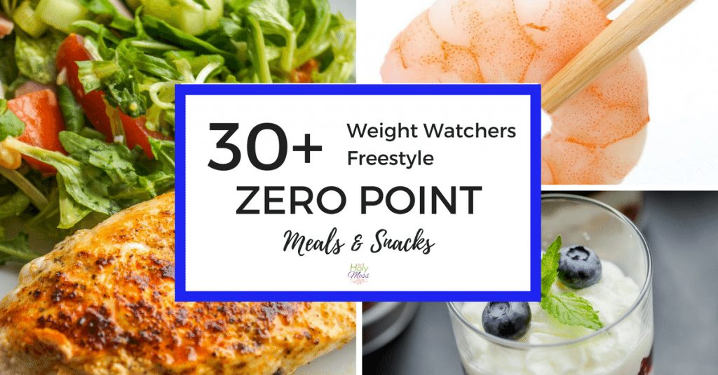 This guide to 30 zero point Weight Watchers freestyle foods is going to make losing weight easy! Enjoy food freedom, healthy eating, and weight loss all at the same time.