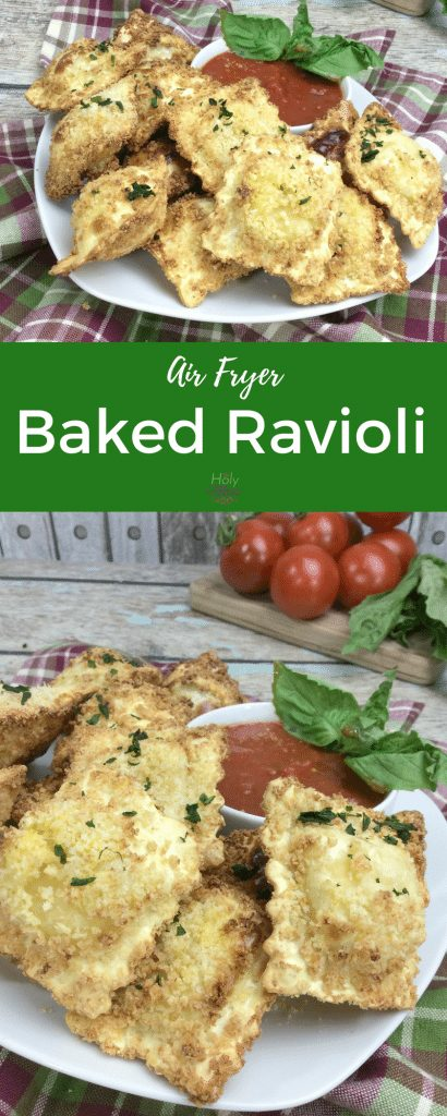 Air Fryer Baked Ravioli