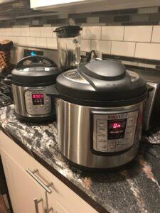 Instant Pot Mini 3 quart pressure cooker