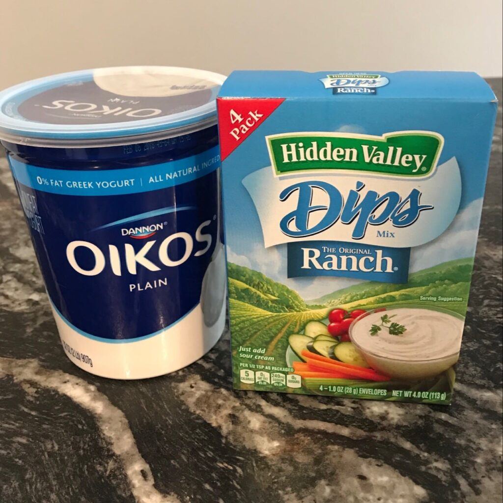 Weight Watchers Ranch Dip Recipe