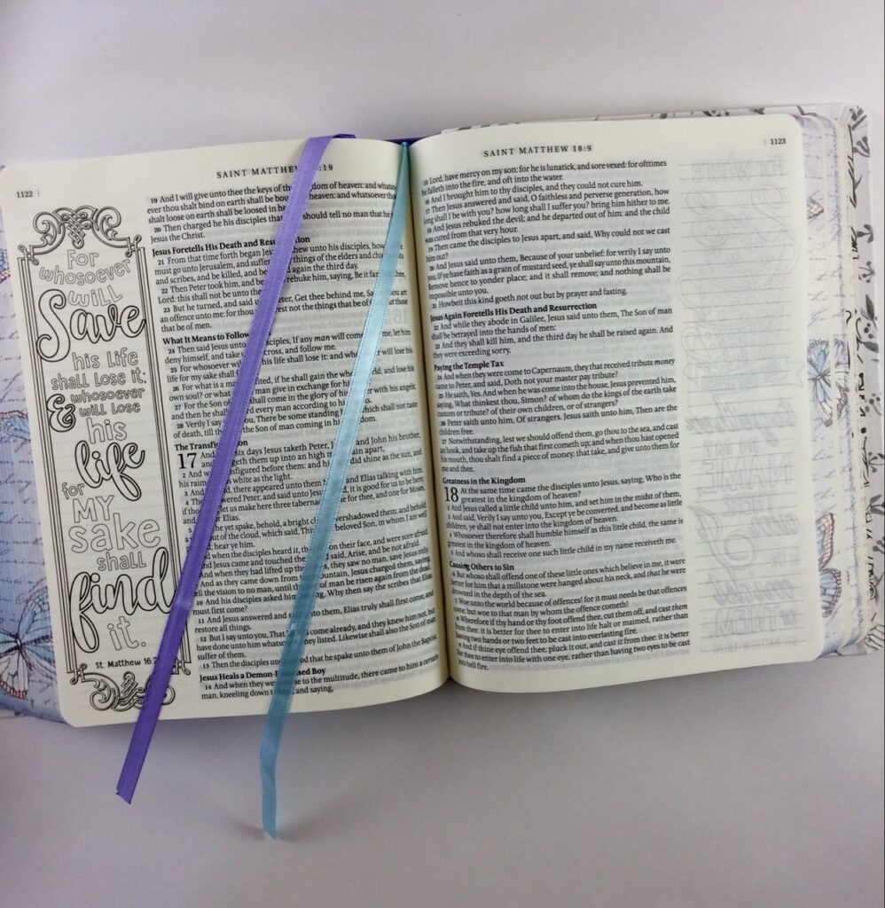 My Promise Bible ribbon bookmarks