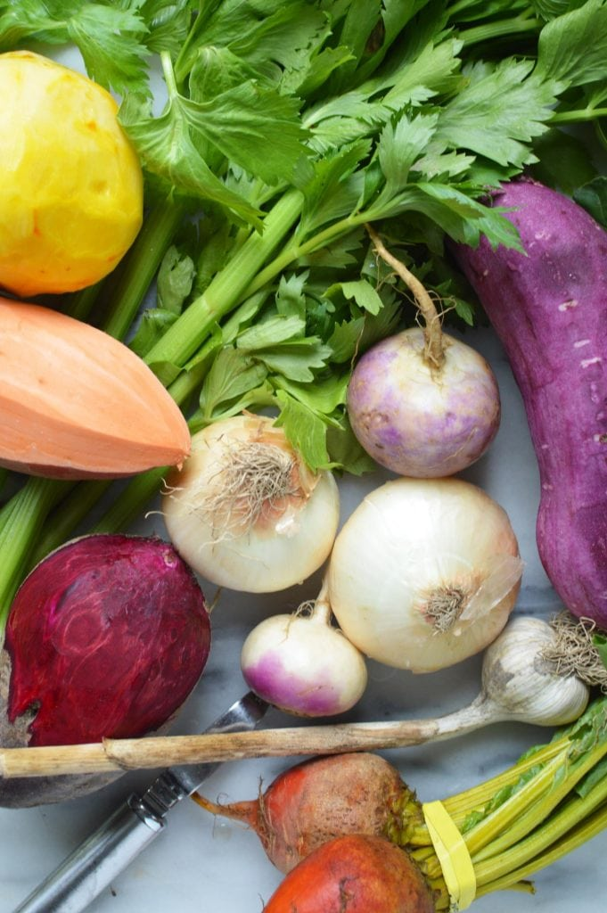 Instant Pot Short Ribs with Vegetables, vegetables for short rib recipe