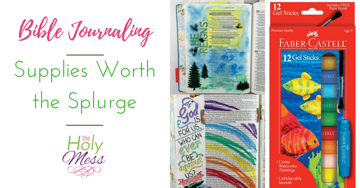 Bible Journaling Supplies Worth the Splurge