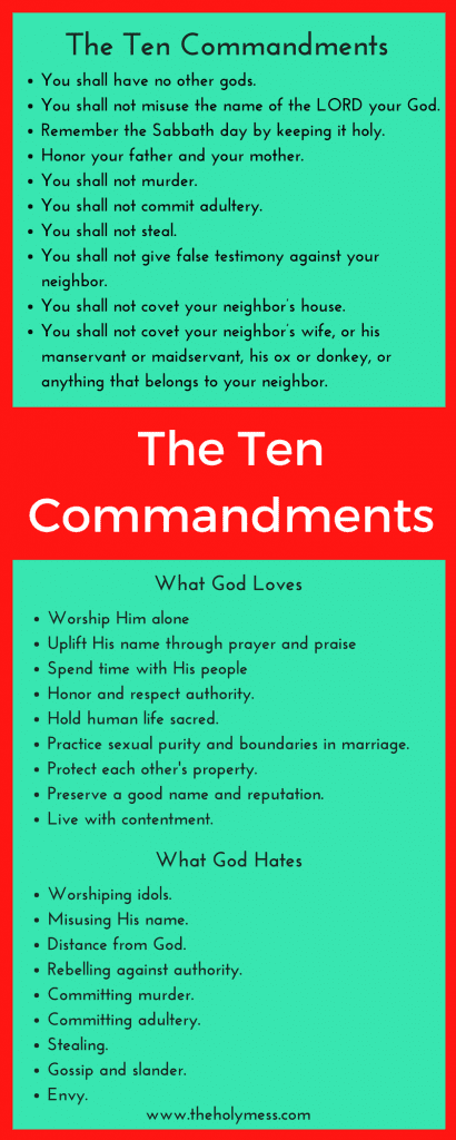 Then Ten Commandments #bible #bibleverse #god #faith