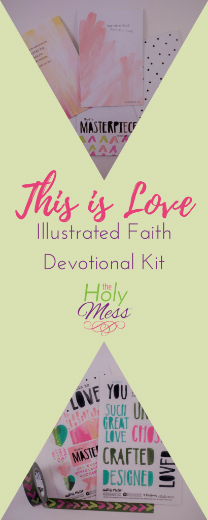 This is Love Illustrated Faith Bible Journaling Kit