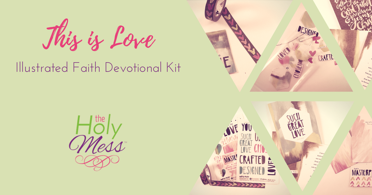 "Illustrated Faith ""This is Love"" Devotional Kit"