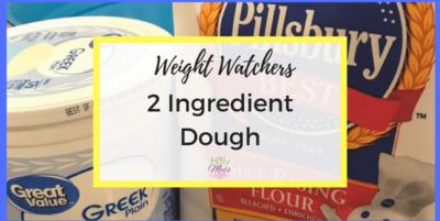 Weight Watchers 2 Ingredient Dough Recipe
