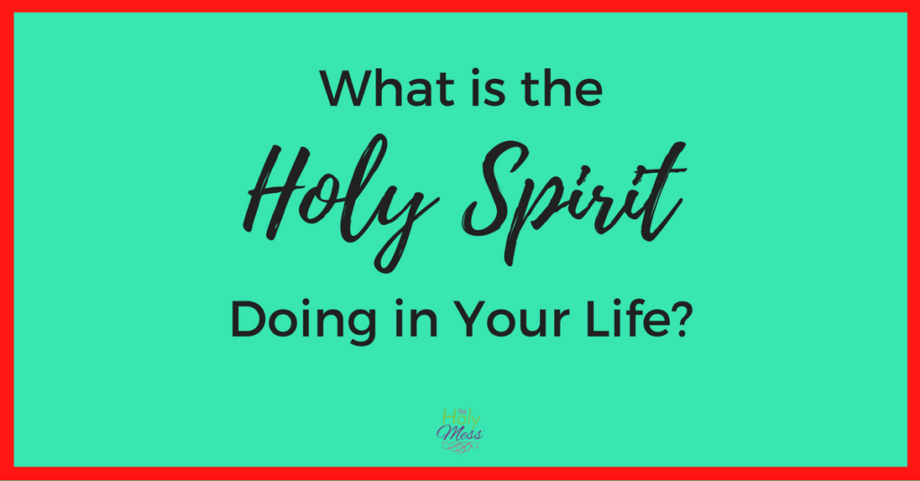 What is the Holy Spirit Doing in Your Life?
