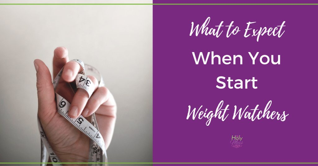 What to Expect When You Start Weight Watchers