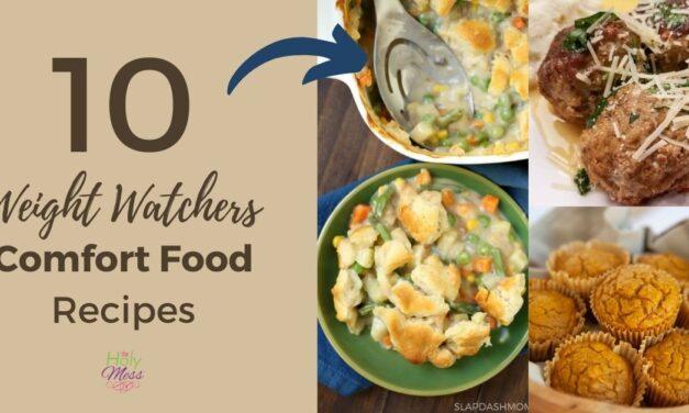 10 Best Weight Watchers Comfort Food Recipes