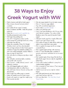 38 Healthy Ways to Enjoy Plain Greek Yogurt on WW