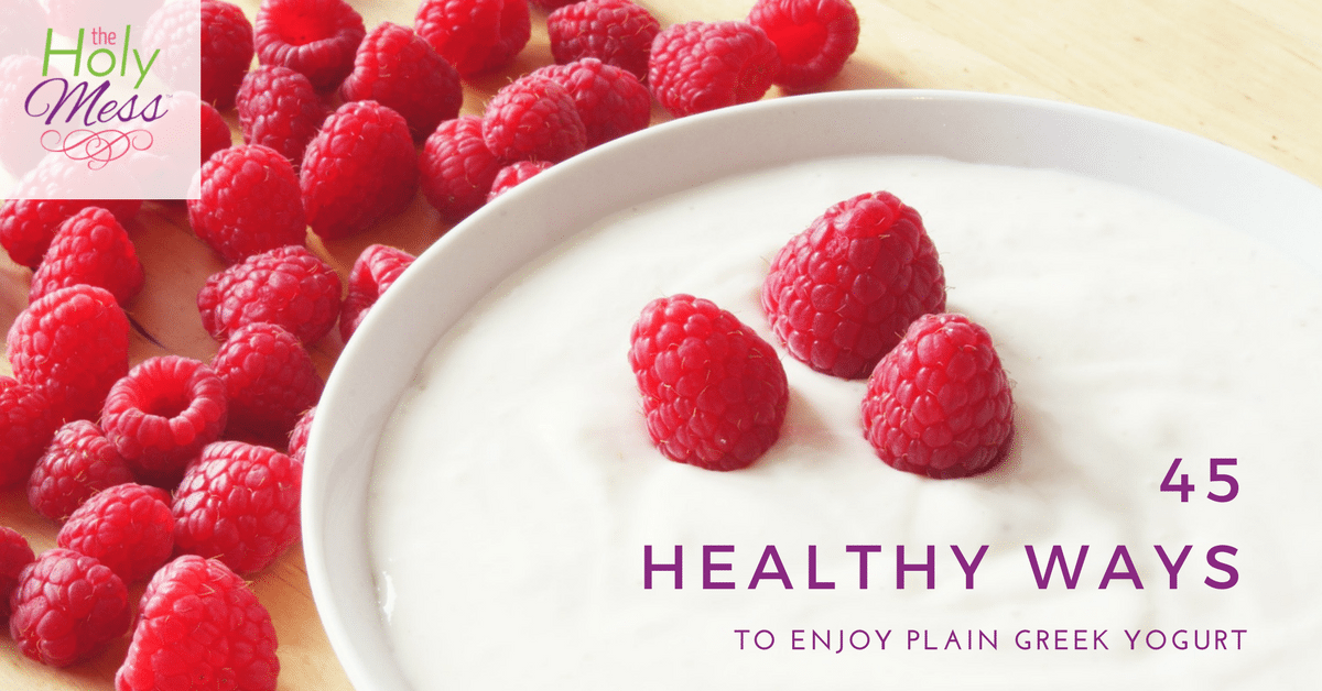 45 Healthy Ways to Use Plain Greek Yogurt