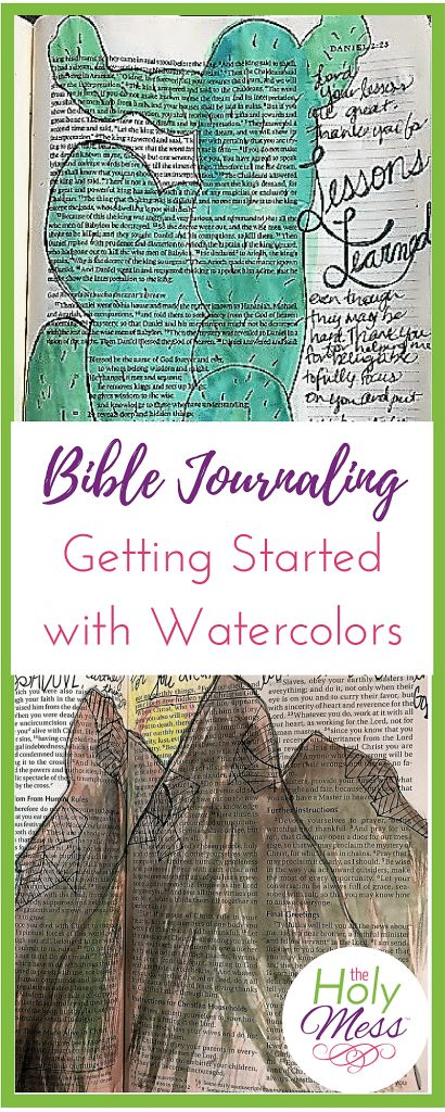 Bible Journaling Getting Started with Watercolors
