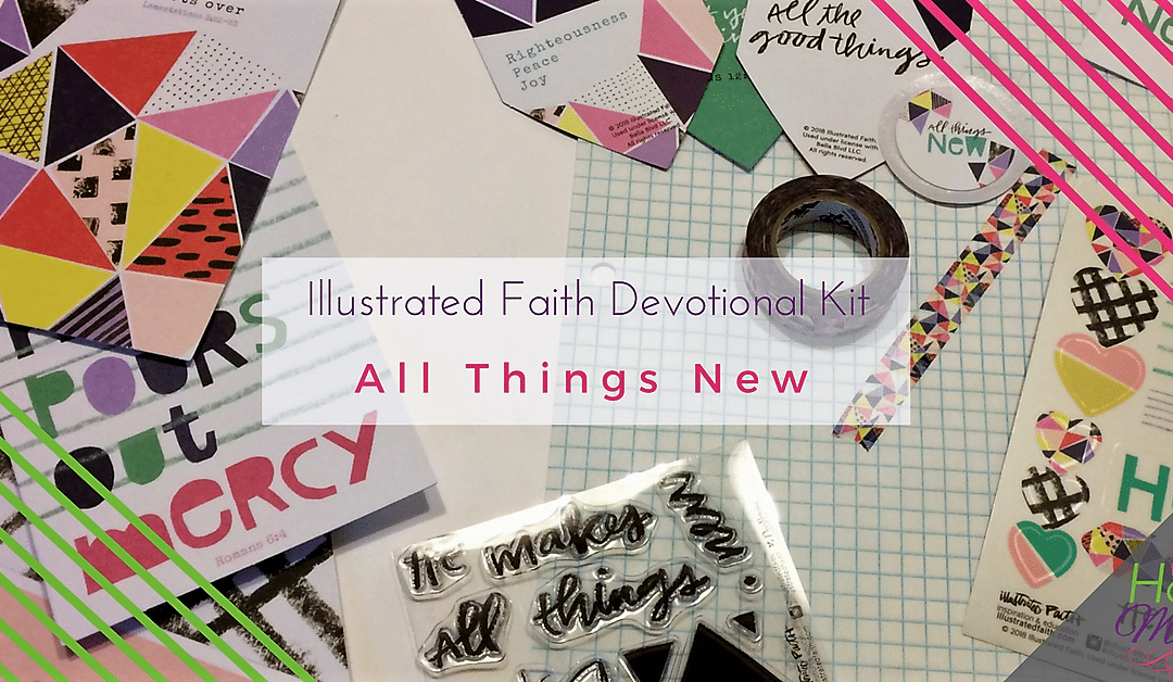 """Illustrated Faith """"All Things New"""" Devotional Kit"""