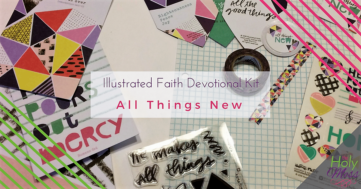 "Illustrated Faith ""All Things New"" Devotional Kit"