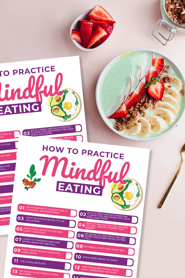 mindful eating printable