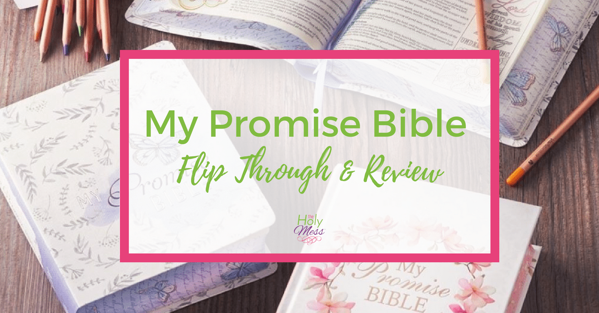 My Promise Bible Flip Through and Review