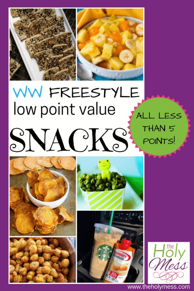10 Weight Watchers Freestyle Low Point Snack Recipes