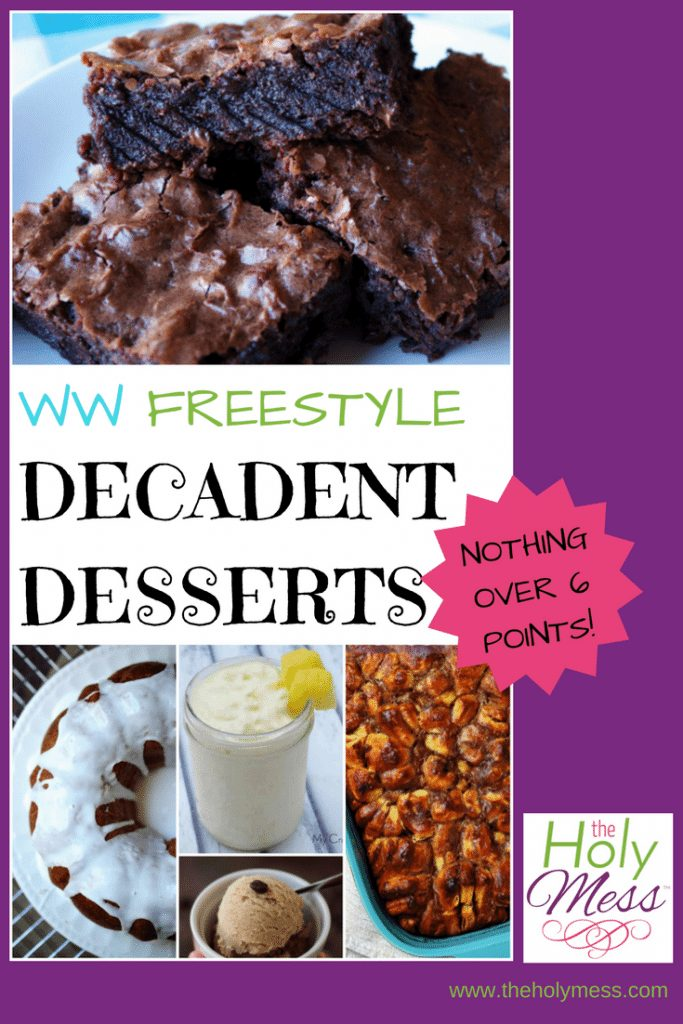 10 Weight Watchers Freestyle Decadent Dessert Recipes