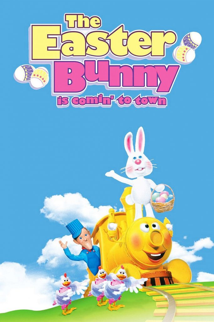 """Poster for the movie """"The Easter Bunny Is Comin' to Town"""""""