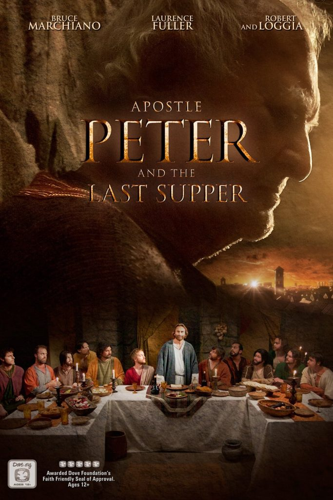 "Poster for the movie ""Apostle Peter and the Last Supper"""