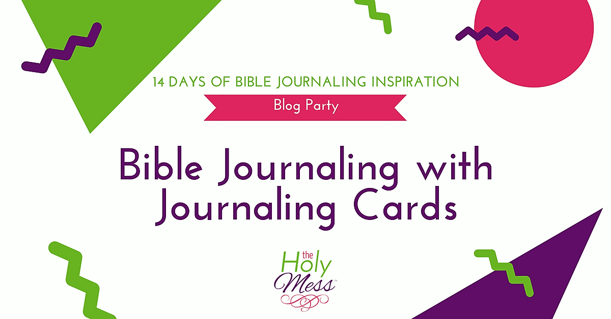 Bible Journaling with Bible Journaling Cards