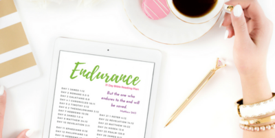 Bible verses about endurance