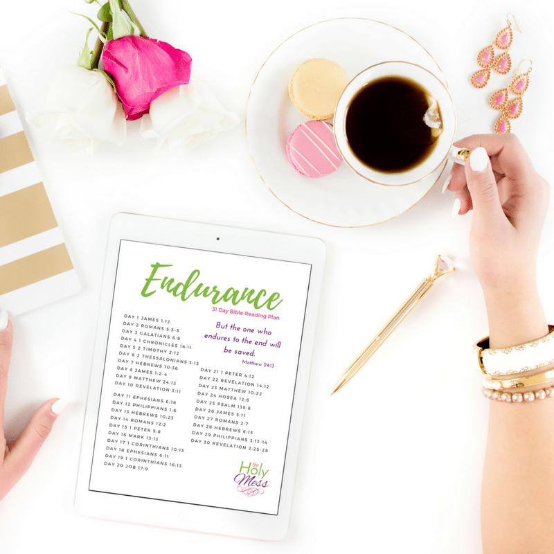 Endurance 31 Day Bible Reading Plan