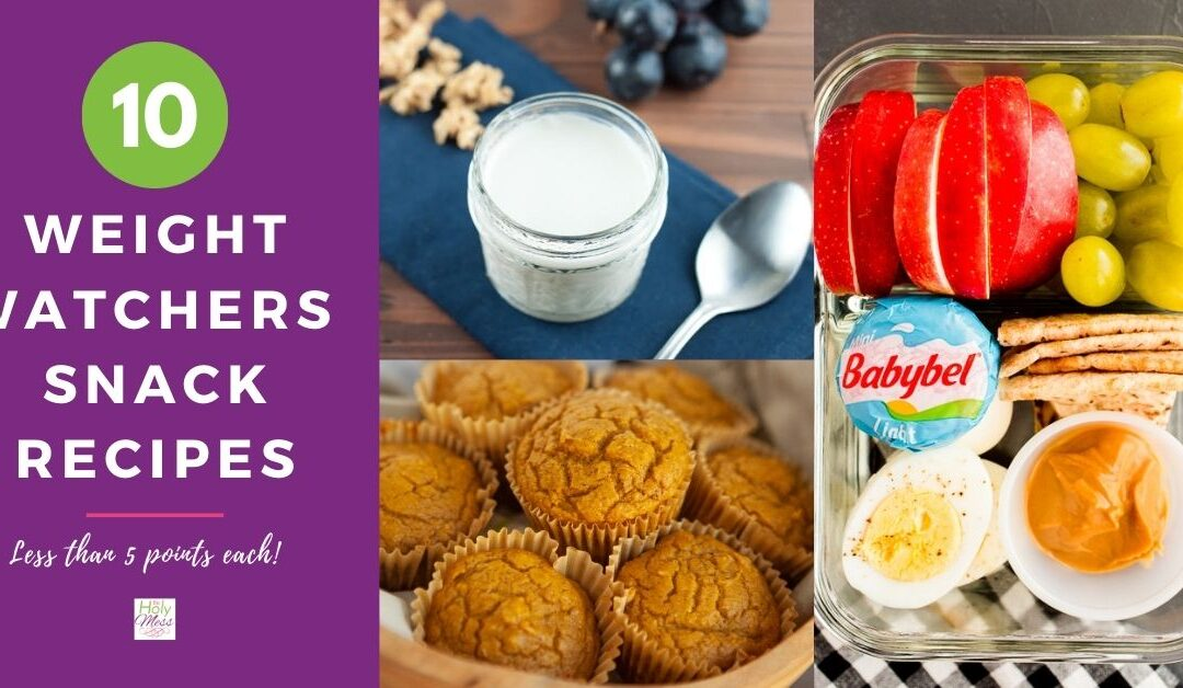 Top 10 Weight Watchers Snack Recipes – Low Points For Green, Blue, & Purple