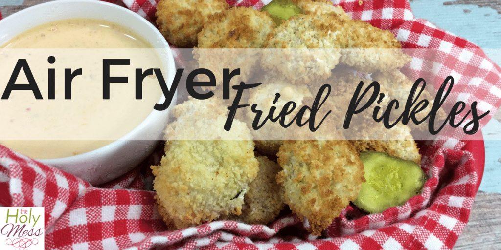 Air Fryer Fried Pickles