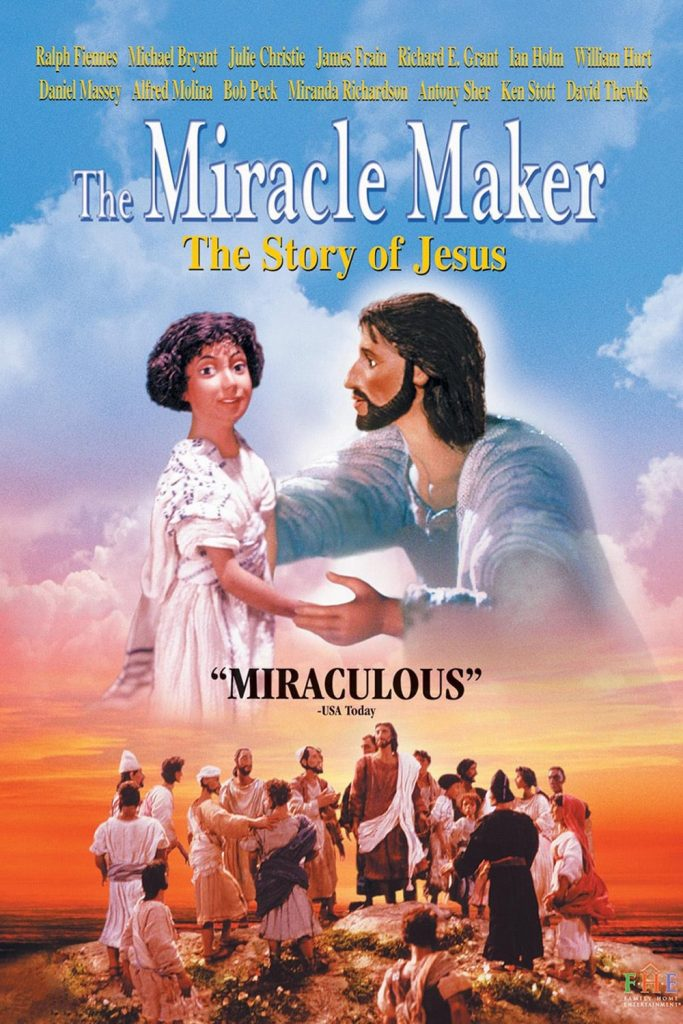 "Poster for the movie ""The Miracle Maker"""